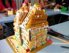 Family Activities - Christmas Cookie Candy House