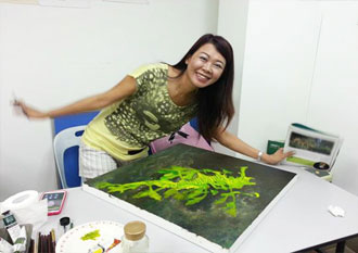 Art class drawing painting manga fusion art for Crafts classes for adults
