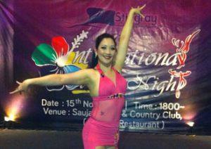 zyen belly dance class