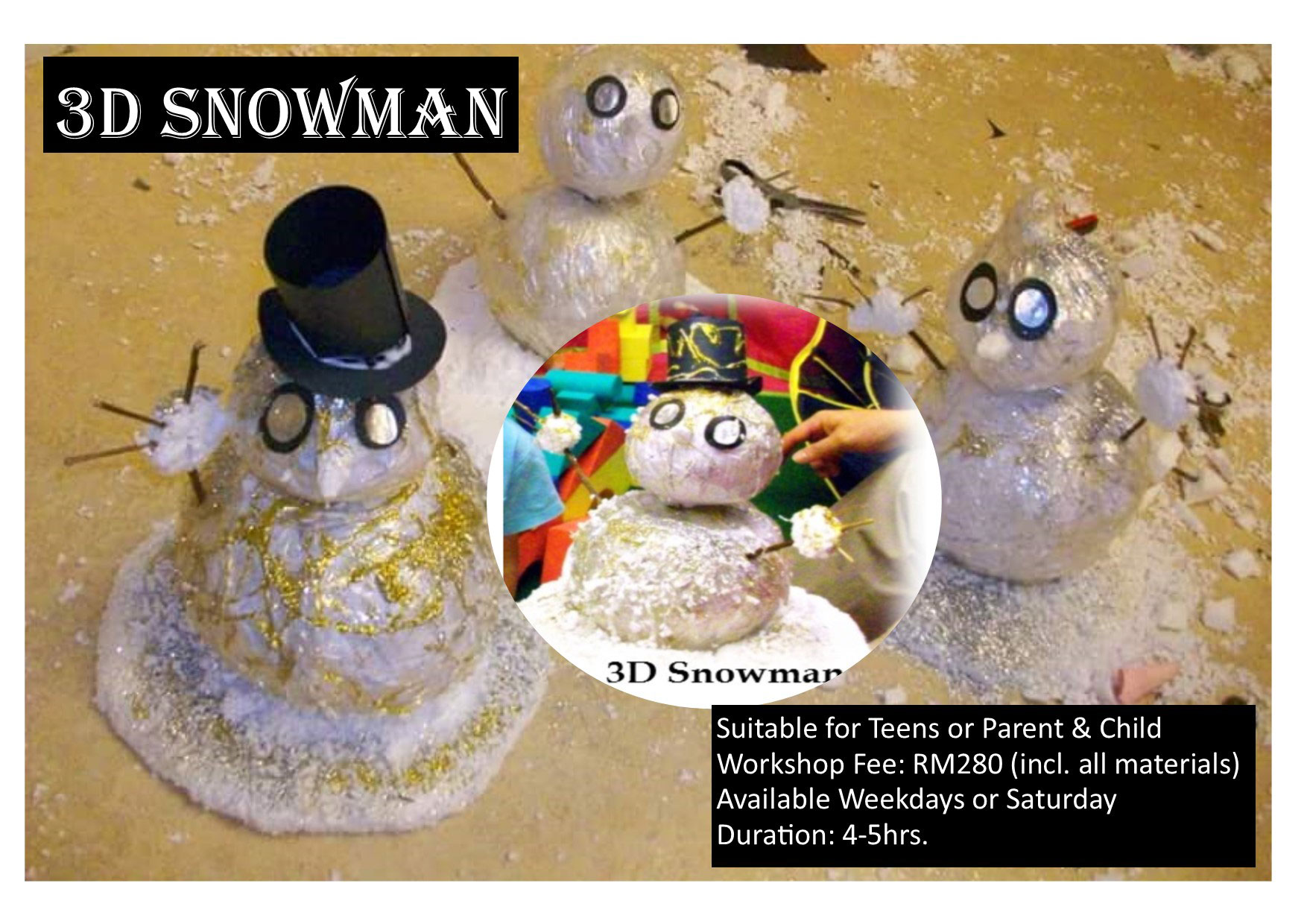 snowman workshop
