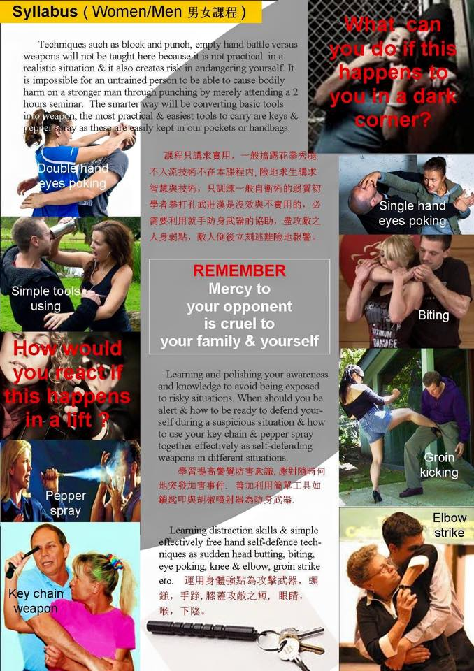 Self Defense Syllabus