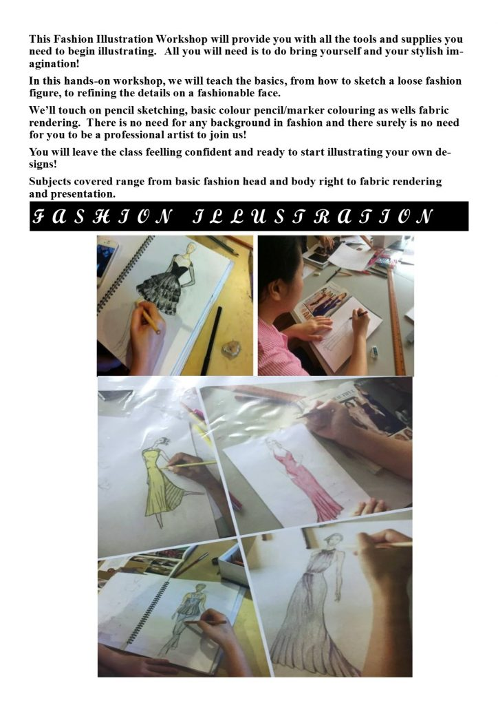 fashion illlustration workshop