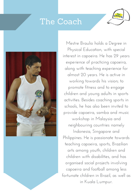 profile of capoeira