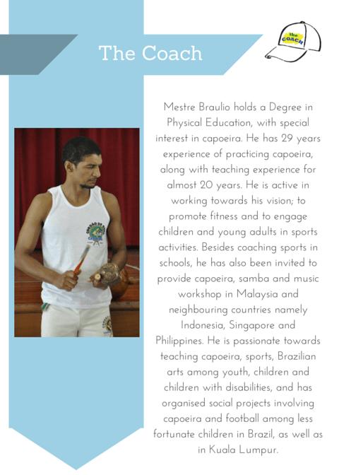 profile of capoeira