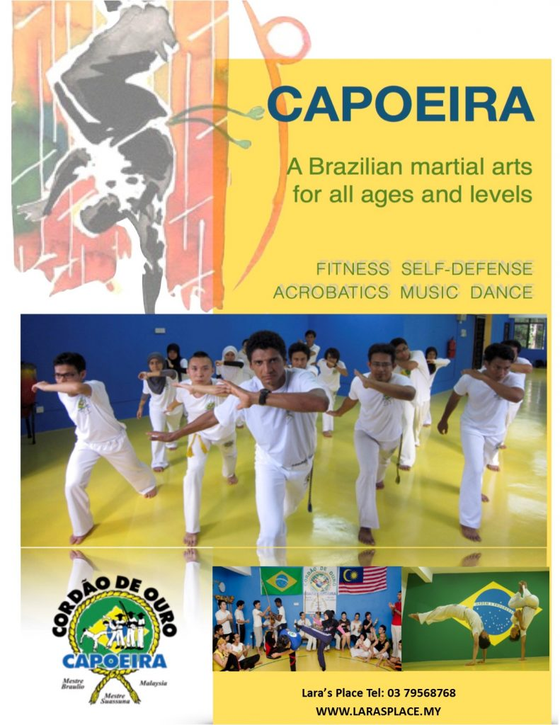 capoeira -adult FLYER