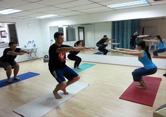 hatha yoga for adults and kids  lara's place activity